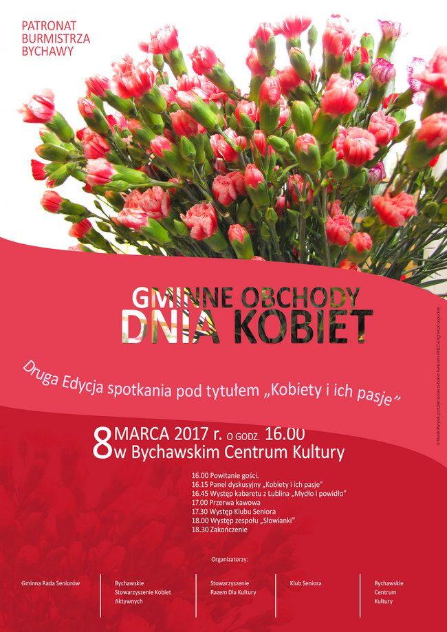 Gminne Obchody Dnia Kobiet - plakat
